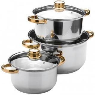Набор посуды MAYER&BOCH 3 кастрюли с крышк. 2+2,9+4,9л 25754