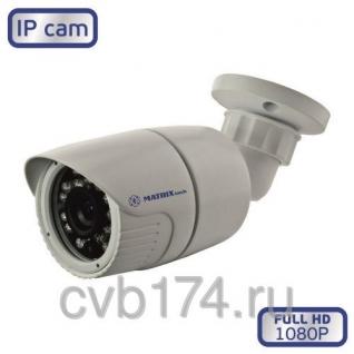 Уличная металлическая IP видеокамера MATRIX MT-CW1080IP20 PoE 2 Мп Full HD ...