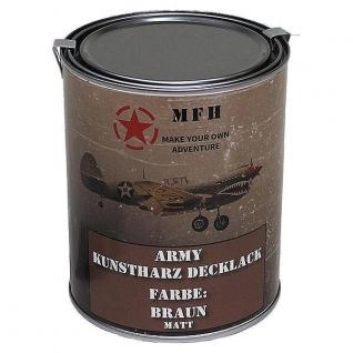 MFH Лак защитный Army, цвет матово-коричневый, 1 л.
