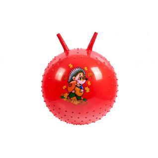 Мяч детский массажный (Красный) BRADEX