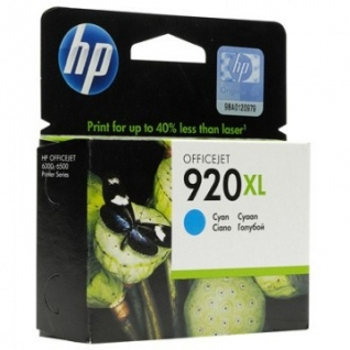 Картридж струйный HP 920XL CD972AE гол. пов.емк. для OJ 6000