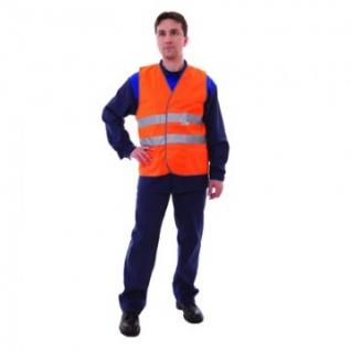 Спец.костюм Жилет сигнальный Тип1Т, цв.оранж.(р.L/48-50)