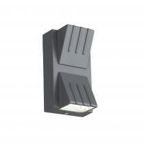 Светильник уличный настенный St Luce Серый кварцевый/Серый кварцевый, Прозрачный LED 2*