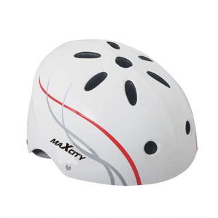 Ролик. шлем Maxcity Roller Liner, белый (l)