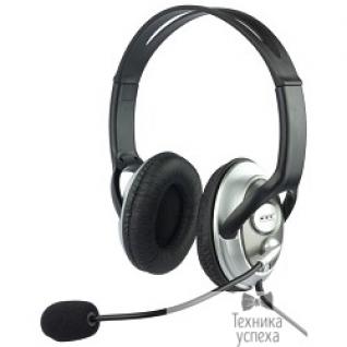 Oklick Oklick HS-M131V серебристый/черный 1.8м накладные оголовье