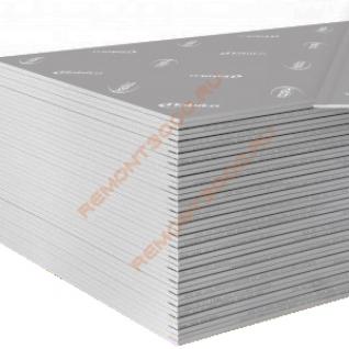 ГИПРОК Хабито стеклофибровый лист акустический 2500х1200х12,5мм (3,0м2) / GYPROC Habito стеклофибровый лист высокопрочный звукоизоляционный 2500х1200х12,5мм (3,0 кв.м.) Гипрок