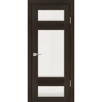 Дверное полотно Profilo Porte PS-6 Цвет Дуб перламутровый, Мокко, Белый сатинат
