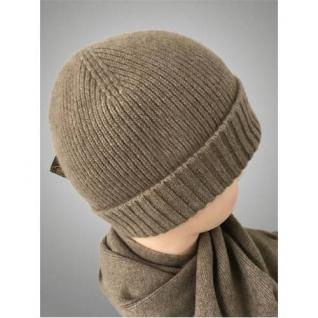 Мужская кашемировая шапка и шарф