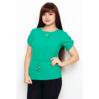 Блуза с коротким рукавом 48 размер
