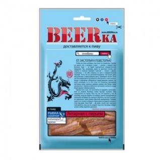 Рыбные снеки Рыбка BEERka сушеная Янтарная с перцем 40г