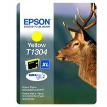 Картридж EPSON C13T13044010 (T1304) желтый, оригинальный 7324-01