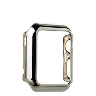 Чехол пластиковый COTEetCI Soft case для Apple Watch Series 1 (CS7015-TS) 38мм Серебристый