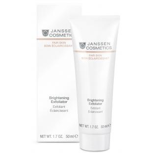 Janssen Brightening Exfoliator - Пилинг-крем для выравнивания цвета лица