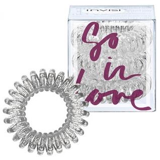 INVISIBOBBLE - Резинка-браслет для волос Invisibobble So-In-Love Sparkling Clear