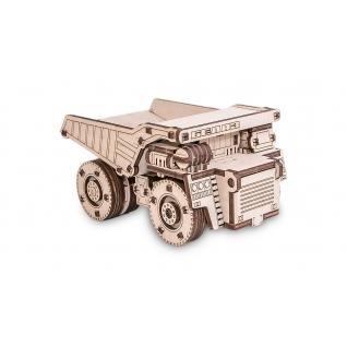 Сборные модели EWA Деревянный конструктор 3D Belaz mini (белаз мини)
