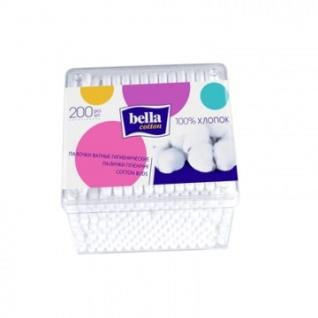 Палочки ватные Bella cotton 200шт/уп моноблок (BC-081-P200-081)