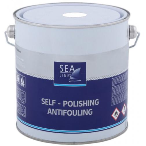 Необрастающая краска (антифоулинг) Sea-Line Alu Plus 2,5л белая (5861) 36993516