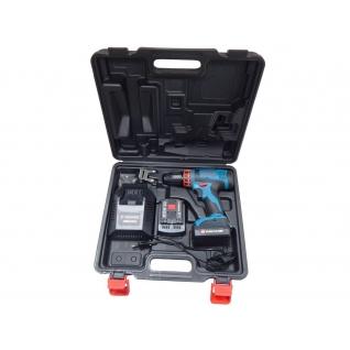 Шуруповерт аккумуляторный (14.4V, 0-350/1350 об/мин, max ф10 мм, 42 Nm, 2АКБх1.5 Ah Li-ion) Forsage electro