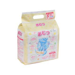 Подгузники детские OMUTSU S 4-8 кг, 28 шт