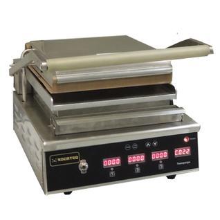 KOCATEQ Гриль бройлер для жарки стейков и гамбургеров односекционный с плоскими поверхностями Kocateq GH12