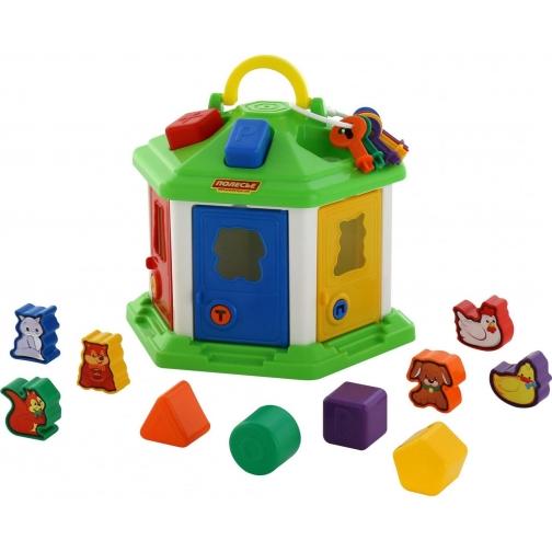 Логический домик №2 (в сеточке) Полесье 37879984