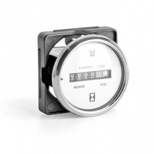 Счетчик моточасов Uflex Ultra white SS (62015P)