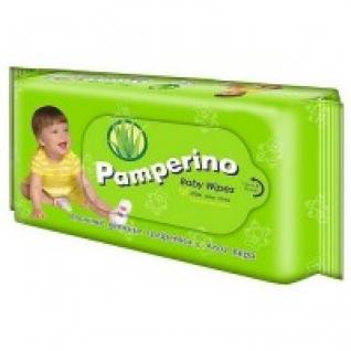 "Салфетки влажные детские Pamperino ""Алоэ вера"", 50 штук Pamperino"