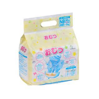 Подгузники детские OMUTSU NB до 5 кг, 30 шт