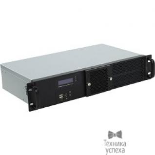 """Procase Procase GM225F-B-0 Корпус 2U Rack server case, черный, панель управления, без блока питания, глубина 250мм, MB 6.7""""x6.7"""""""
