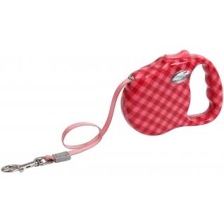 Freego Фрего Рулетка Клетка диагональ лента 5 м до 41 кг размер L красная
