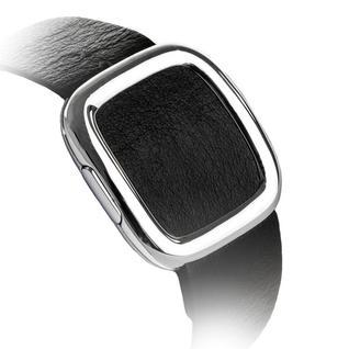 Ремешок кожаный COTEetCI W5 NOBLEMAN (WH5201-BK) для Apple Watch 44мм/ 42мм (современная пряжка) Black - Черный