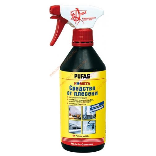 ПУФАС Комета средство от плесени (0,25л) / PUFAS N145 Kometa средство от плесени (0,25л) Schimmel-Spray Пуфас 36983653