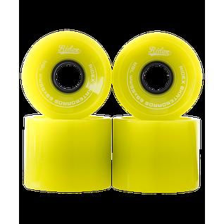 Комплект колес для лонгборда Ridex Sb, зеленый, 4 шт.