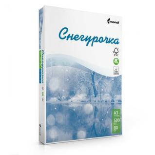 Бумага для ОфТех СНЕГУРОЧКА (А3,80г,146%CIE) пачка 500л.