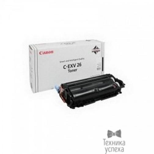 Canon Canon C-EXV26Bk 1660B006 Тонер для iRC1021i, Черный, 6000стр. 36987686