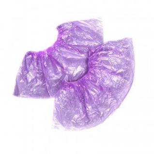 Бахилы н/с, п/э Стандарт 2,8г фиолетовый 50 пар/уп