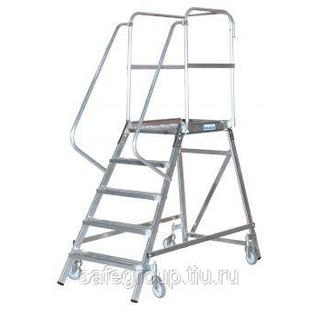 Лестница-платформа STABILO с 3-мя алюм. ступеньками