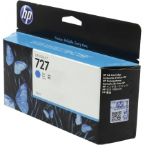Оригинальный картридж B3P19A №727 для принтеров HP Designjet T1500/T2500/T920, голубой, струйный, 130 мл 8627-01 Hewlett-Packard