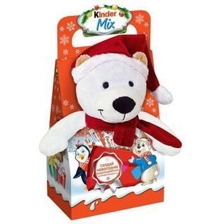 Новогодний сладкий подарок КИНДЕР МИКС С ИГР-Й 137,5Г Kinder