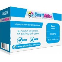 Тонер-картридж S050212 (C13S050212) для Epson AcuLaser C3000, совместимый, голубой на 3500 стр. 9346-01 Smart Graphics