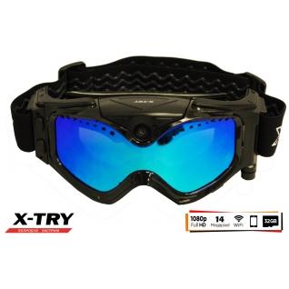 Маска с камерой X-TRY XTM100B HD1080P WiFi (линза Blue) X-TRY