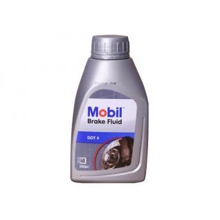 Тормозная жидкость MOBIL BrakeFluid DOT 4, 0.5 литра