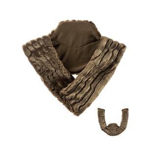 Грелка в чехле для плеч FASHY наполнением из семян рапса флис