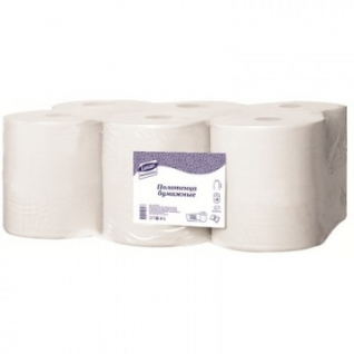 Полотенца бумажные д/дисп. Luscan Professional с ЦВ 2слбелцел150м 6рул/уп