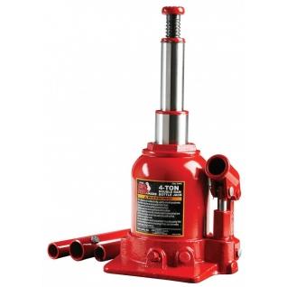 Домкрат бутылочный с двумя штоками, 4т с клапаном(h min 160мм, h max 390мм) Big Red