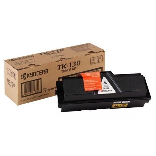 Картридж TK-130 для Kyocera FS-1300, FS-1350, FS-1028 , FS-1128 (черный, 7200 стр.) 1290-01 852481 1