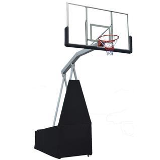 DFC Баскетбольная мобильная стойка DFC STAND72G 180x105CM стекло (семь коробов)