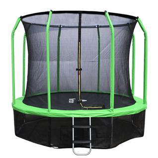 Yarton Батут Yarton 12 ft 3,66 м с сеткой и лестницей Yrt12FTGR (зеленый)
