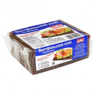Хлеб Delba Вестфальский ржаной SHORT 500г