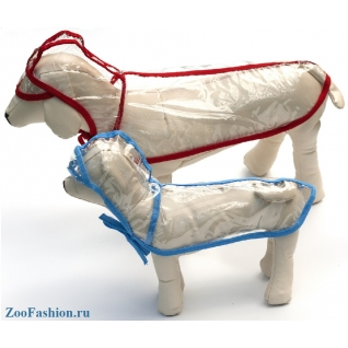 """Дождевик для больших собак """"Лентяй"""" (60см )"""